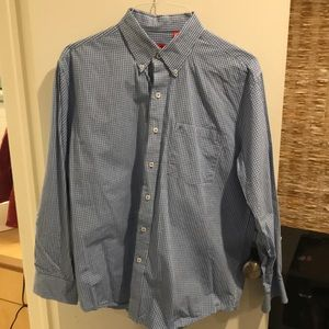Izod Long Sleeve Button Down Dress Shirt